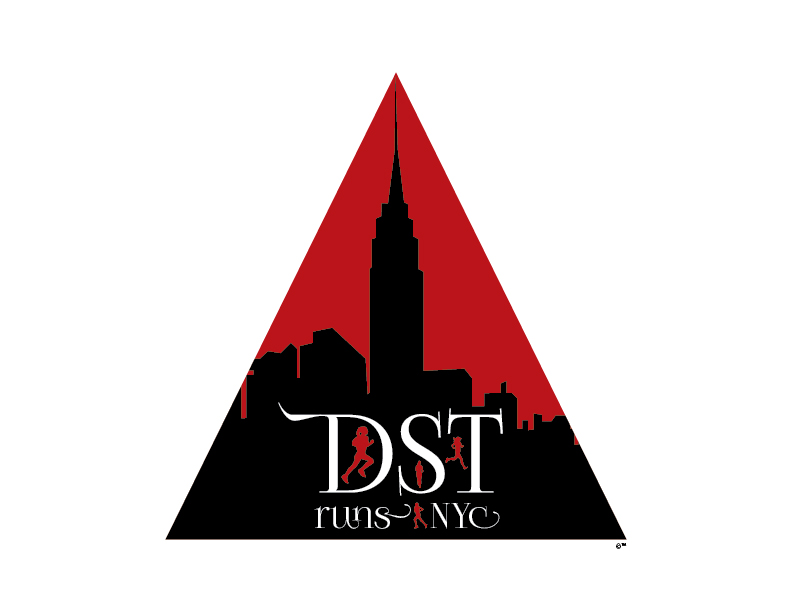DST Runs NYC Logo Design