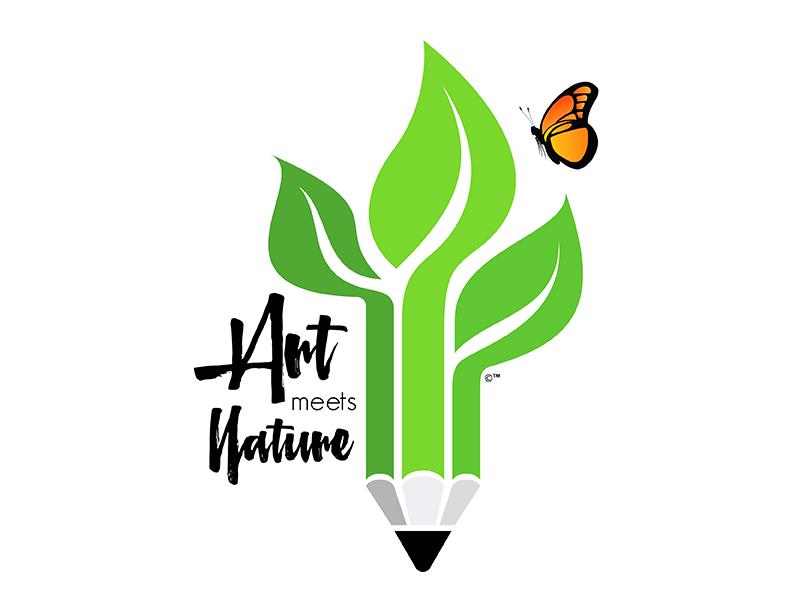 Art Meets Nature Logo Design