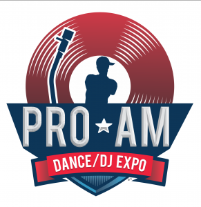 Pro-AM Dance/DJ Expo Logo Design