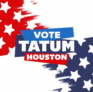 Vote for Tatum for Mayor of Houston Design