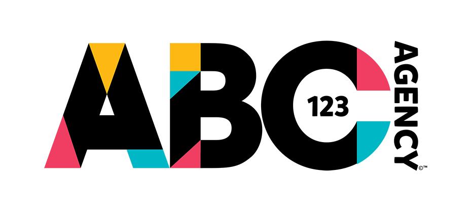 ABC123 Agency Logo Design
