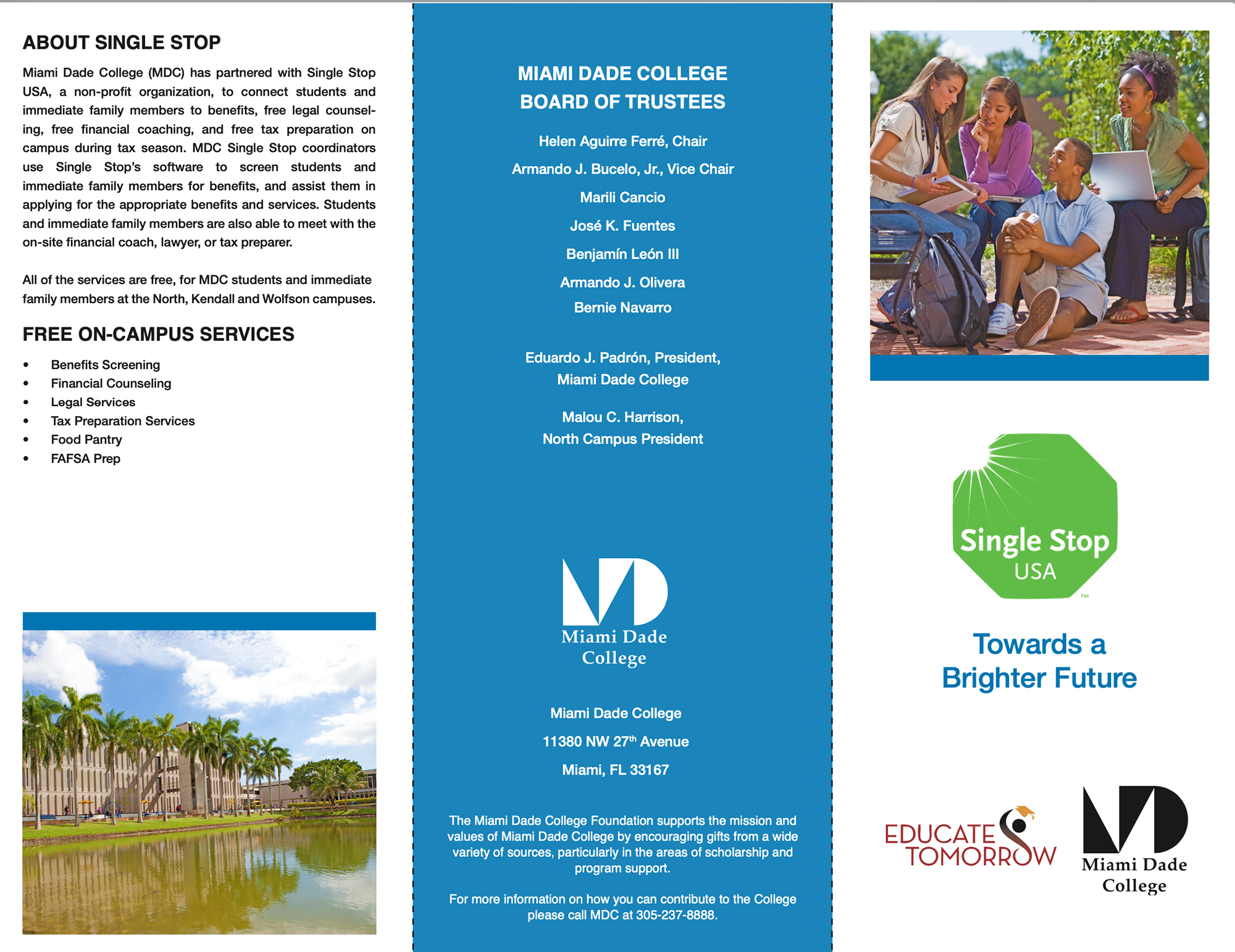 Single Stop Brochure Design