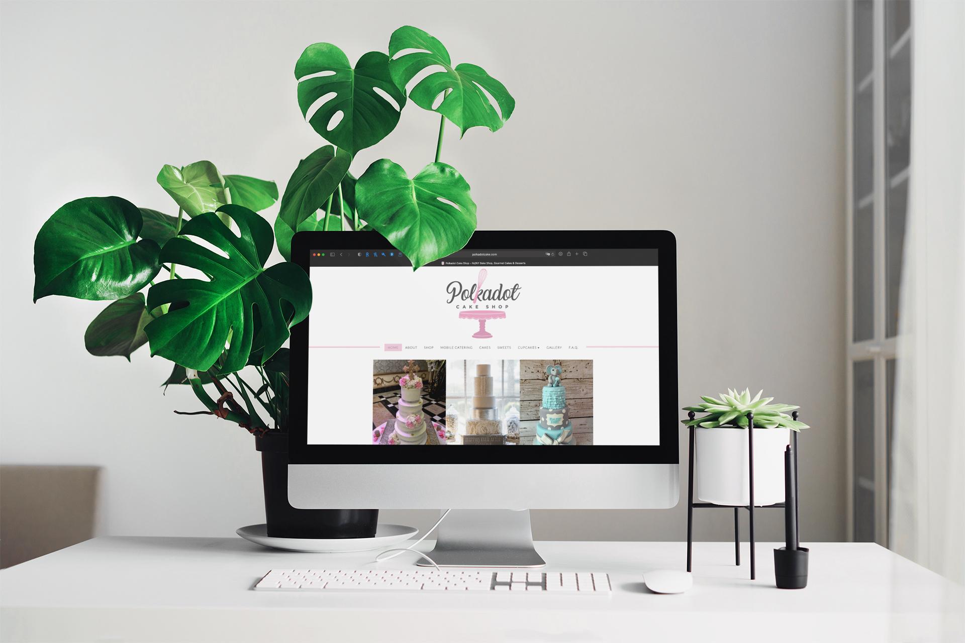 RRSanchez - Polkadot Cake Website Design